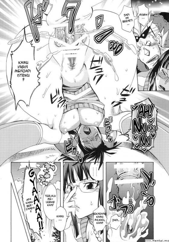 Komik Hentai One Piece - Dunia Yang Erotis