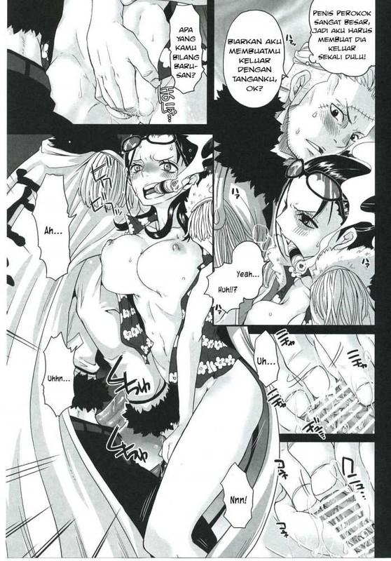 Komik Hentai Xxx One Piece - Pertempuran Birahi