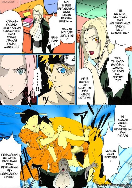 Manga Hentai Naruto - Jurus Ngentot Sakura