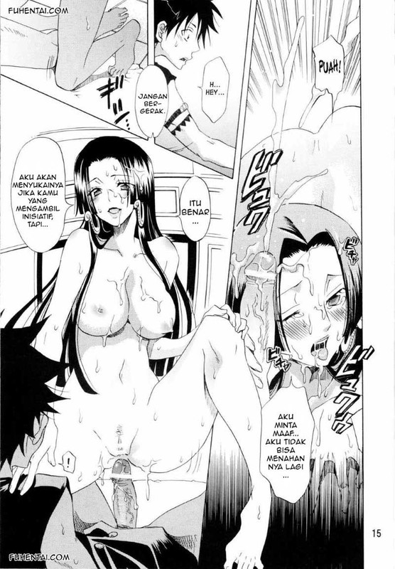 Manga Hentai One Piece Luffy Menggoyang Memek