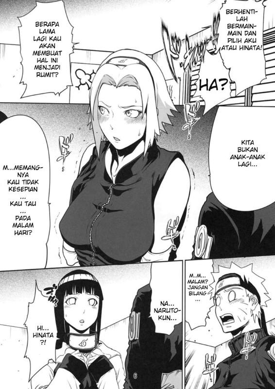 Komik Hentai Pilih Sakura Atau Hinata
