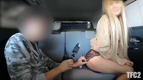 【オボワz☆ 投稿作品】ギャルママのミナミさんと今度は車内で子作りSEX!一週間貯めてきた精液をパイパンま〇この奥の子宮にたっぷり直射!