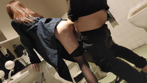 【オボワz☆ 投稿作品】【無】新人営業OL・多目的トイレで中出し・ホテルでも中出し